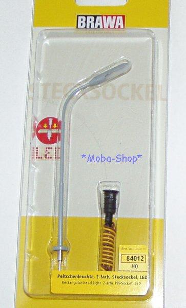 Brawa-84012-H0-Peitschenleuchte-Stecksockel-mit-LED-63912